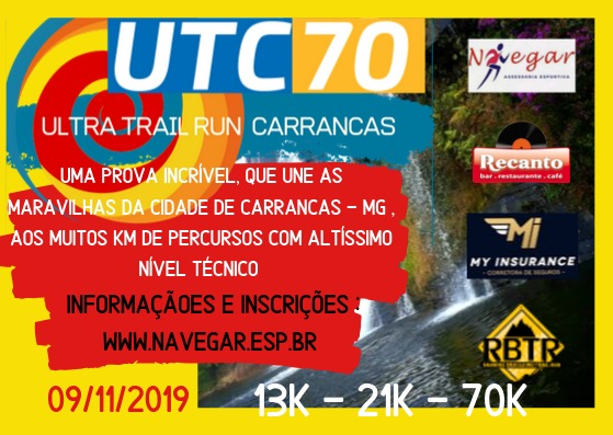 Ultra Trail 70k de Carrancas