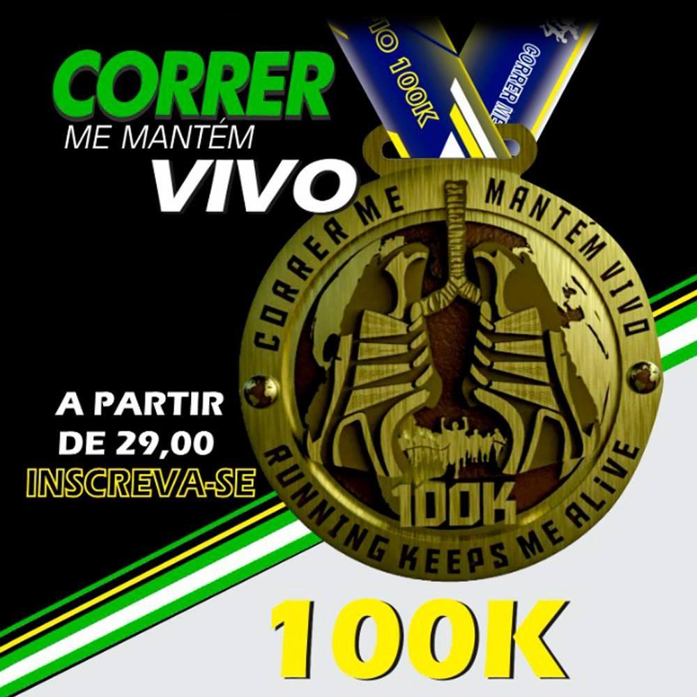 CORRER ME MANTEM VIVO II - DESAFIO 100K - MAIS QUE UM EVENTO UM MOVIMENTO